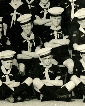 Photo:1st Carshalton Sea Scouts c.1944