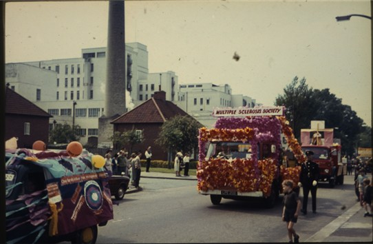 Photo:Carshalton Carnival in the early seventies.