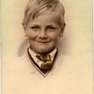 Photo:Lilleshall Road School Photo of Eric Wrate c.1936. The photographer went to the pupils house then unlike today.