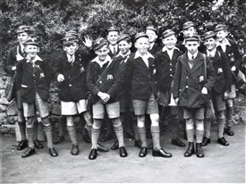 Photo:First Form Mitcham County School