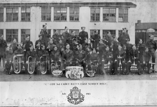 Photo:Army Cadet Band July 1943