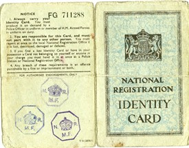 Photo:Cover of an identity card