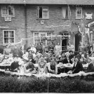 Photo:Shrewsbury Road coronation party 1953