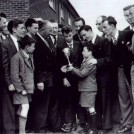 Photo:Presentation of trophies at the St. Helier Boxing Club, 8th May 1954