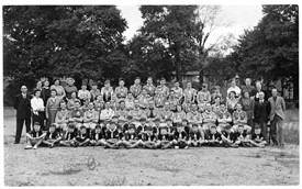Photo:5th. Morden Scouts 1953 Green Lane Methodist Church