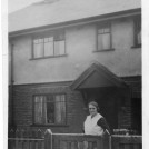 Photo:Mable Ansell at her house in Nightingale Road