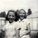 Photo:Taken outside the front of 86 Tweeddale Road. The prefabs can be seen in the background c. 1955.