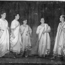 Photo:Tweeddale Drama group in Julius Caesar