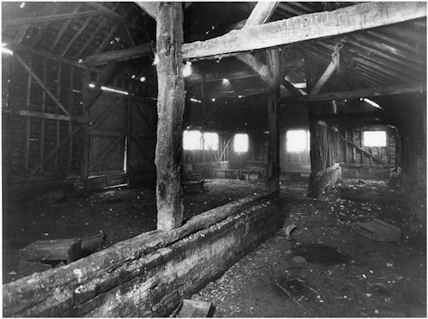 Photo:Old barn at Hill Farm 1929