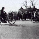 Photo:The Pioneer Motor Cycle Rally, Rose Hill, St Helier. 21st March 1954