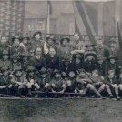 Photo:8th Morden Scouts (St. Peter's) c1945 Alan Davidson back row 3rd from left